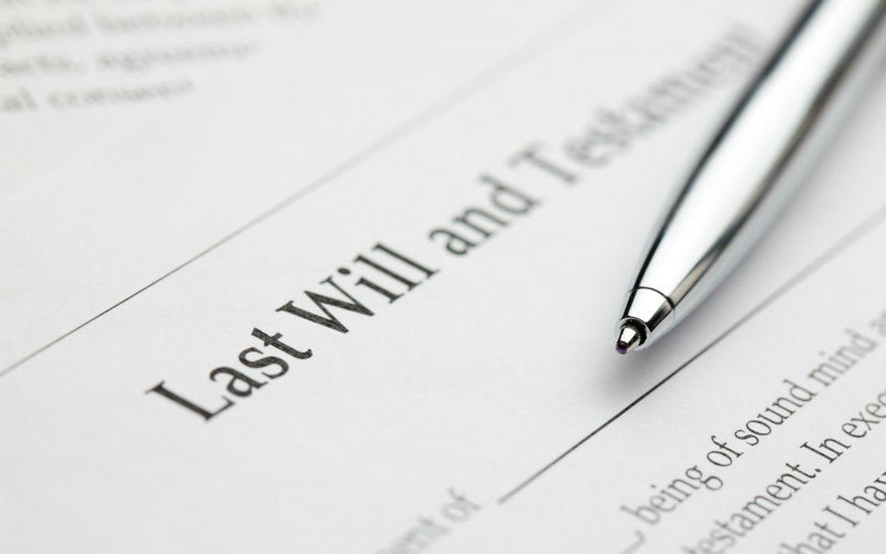 Two thirds of the population don't have a Will
