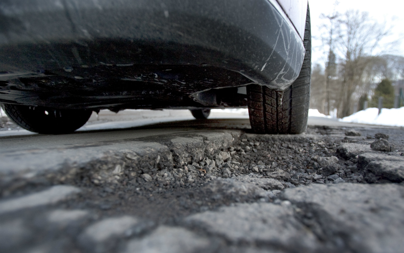 Potholes, road conditions, Scotland, personal injury claim