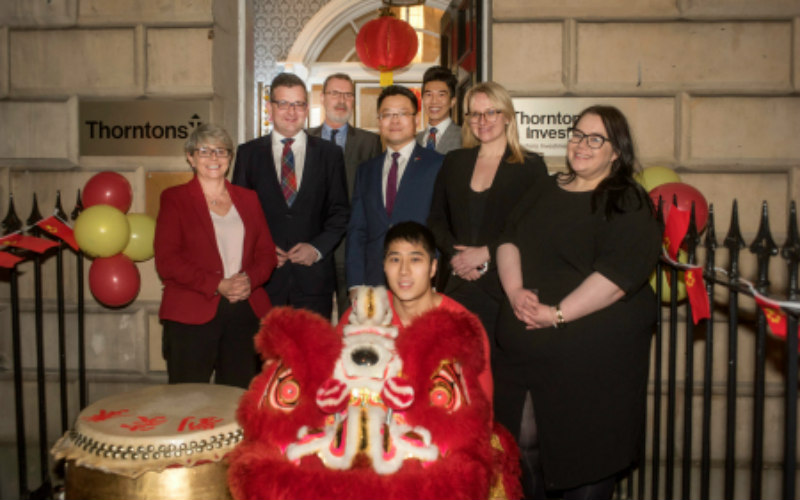Thorntons strengthens its relationship with China