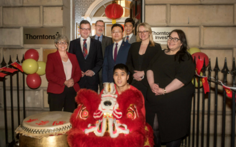 Thorntons strengthens China ties at New Year celebration reception