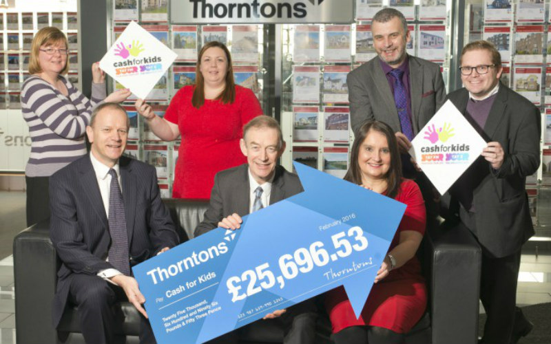 Thorntons launches annual Charity Wills month for Cash for Kids