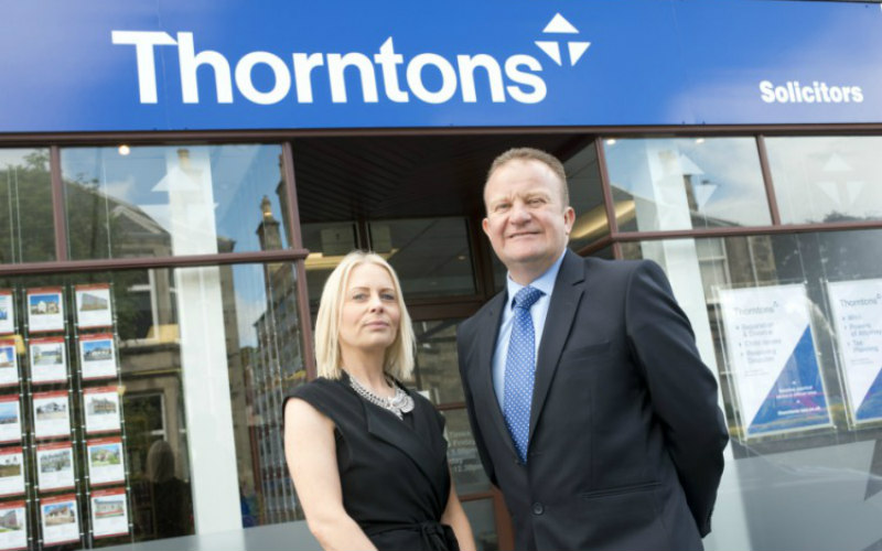 Zoe Stevenson Goes Back to Her Roots with Thorntons
