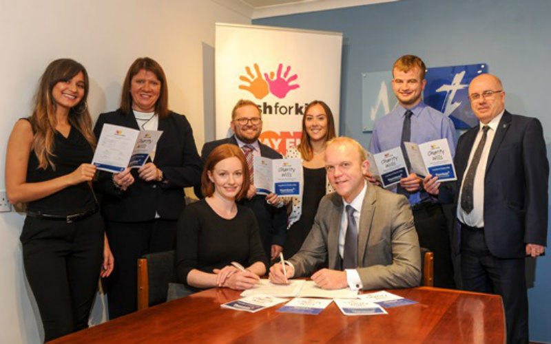 Montrose employees make Wills in aid of charity