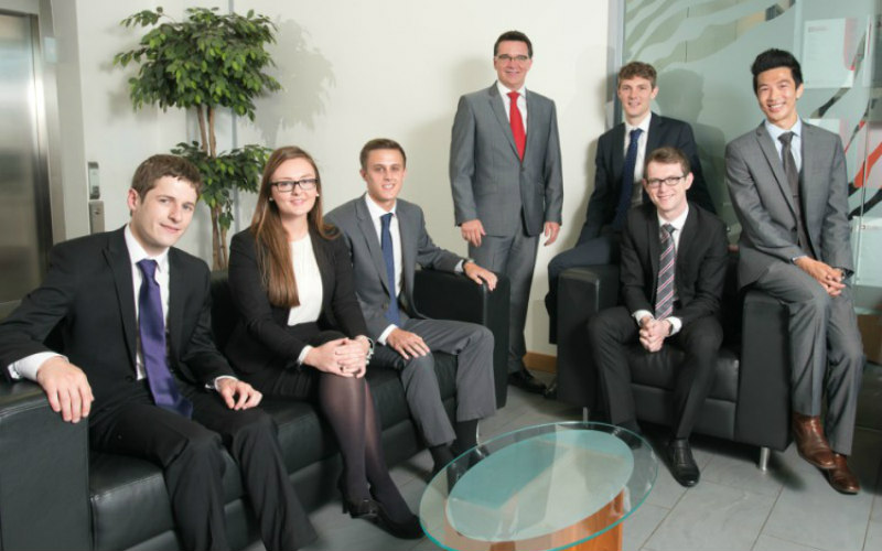 Thorntons expands its business with six new trainees