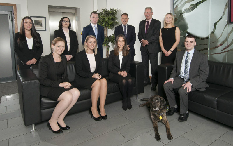 Eight new trainees start their career with Thorntons