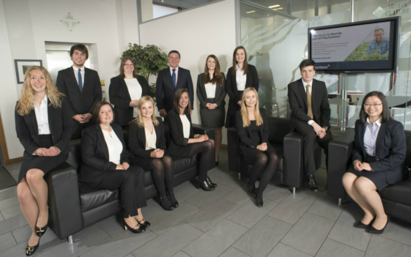 Thorntons welcomes eleven new trainees on board