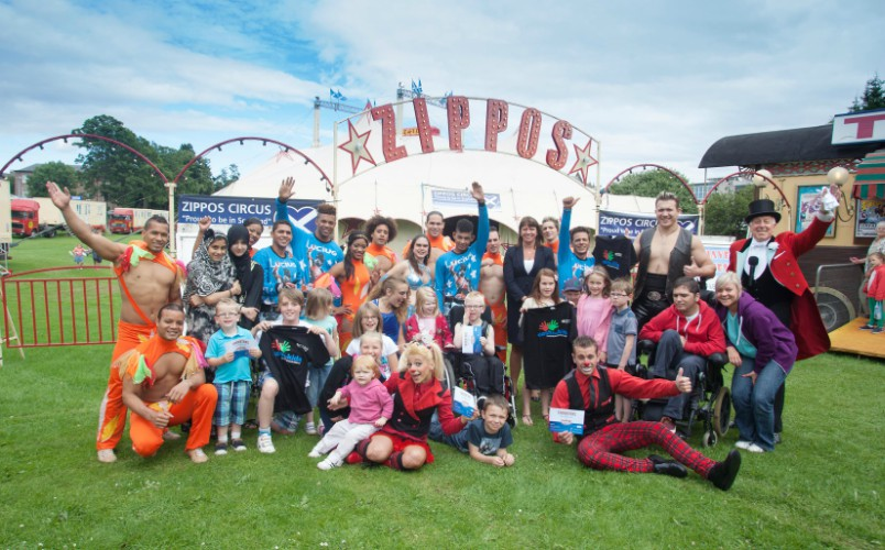 A circus treat for local families