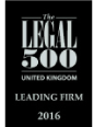 Legal 500 2017 Leading Firm