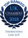Chambers & Partners 2018 Leading Firm