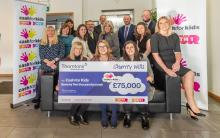 Cash for Kids receives £75,000 donation