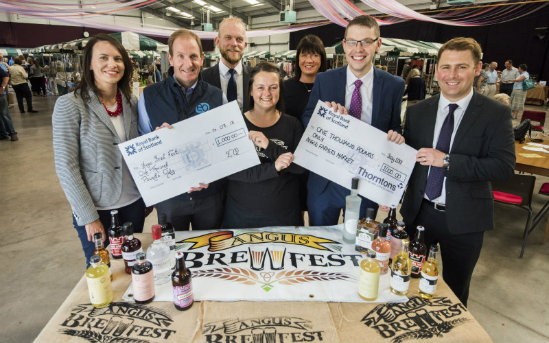 Cheers to financial support | Thorntons and EQ Sponsor Angus Brewfest