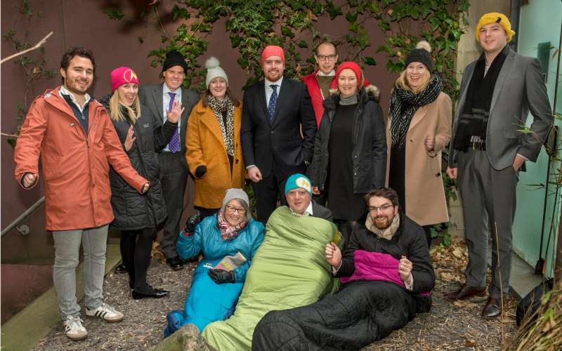 Thousands raised in mass Sleep Out