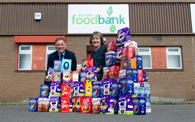 Egg-ceptional donation for local families