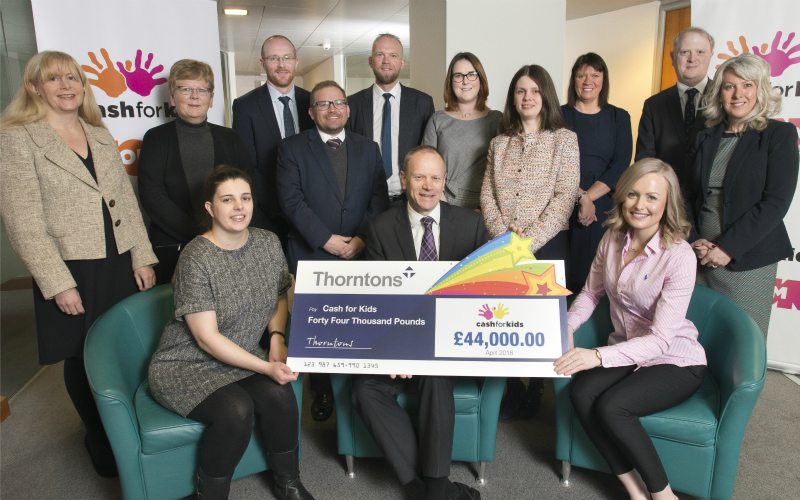 Six figure sum raised for Cash for Kids