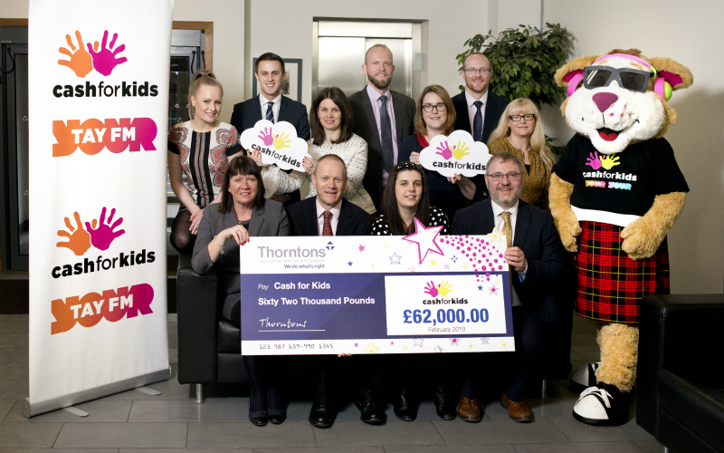 Record £62k sum raised for Cash for Kids