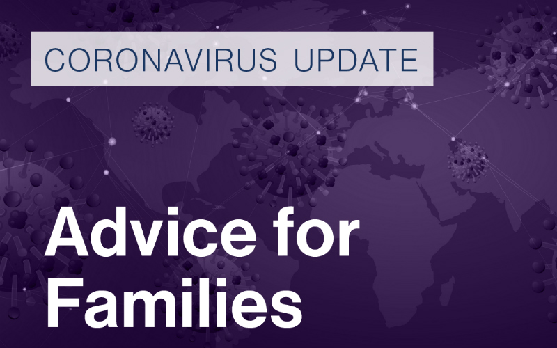 Guidance on Contact and Residence Matters during Coronavirus Outbreak.