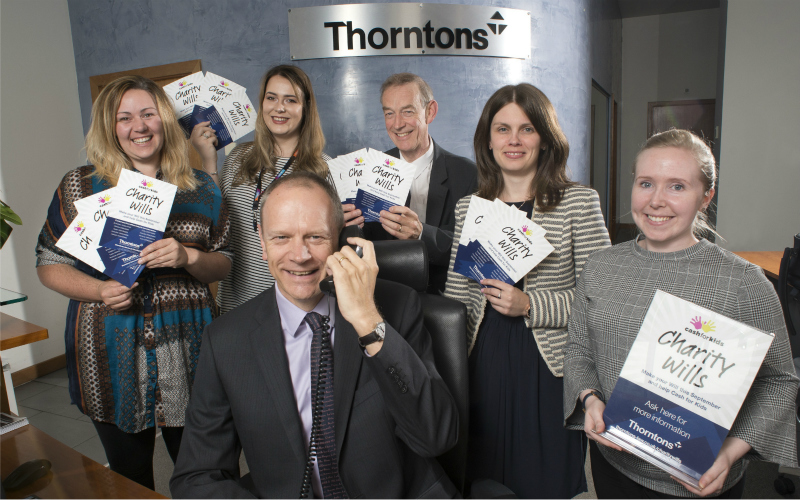 Thorntons starts taking calls as it launches Charity Wills Month