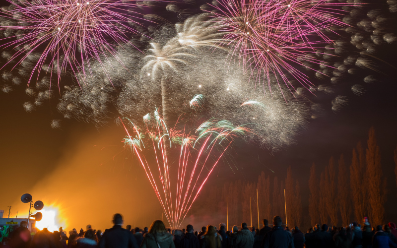 Fireworks – something to bang on about?