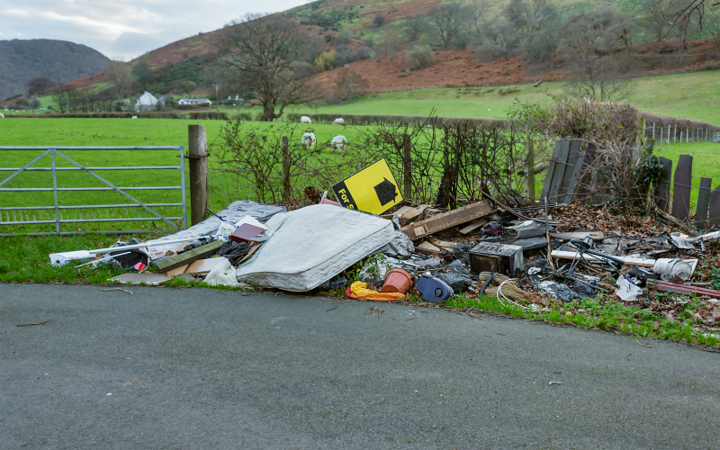 The cost of Fly-tipping to land owners