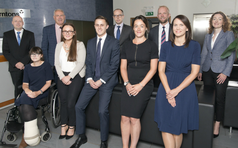 Eleven solicitors progress their careers with top Scottish employer