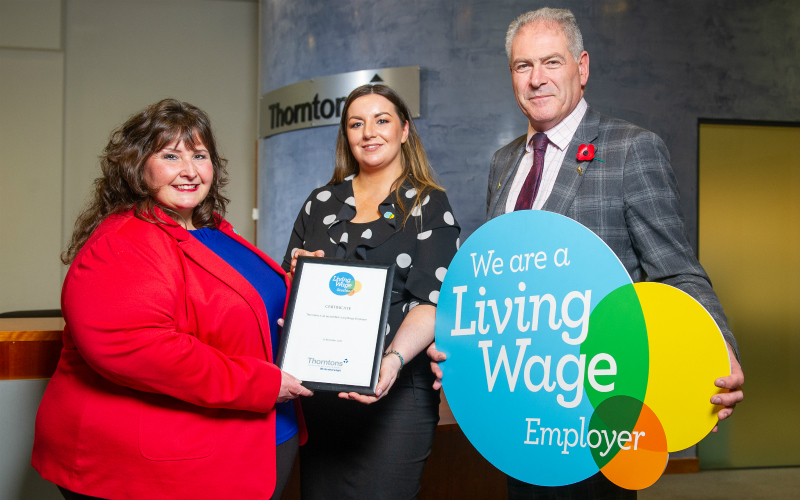 Thorntons Solicitors Scotland | Living Wage Accreditation
